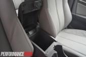 2013 Holden Colorado 7 LTZ storage