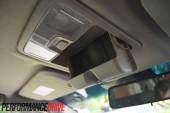 2013 Holden Colorado 7 LTZ sunglass holder