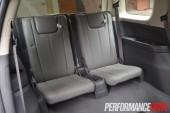 2013 Holden Colorado 7 LTZ third row seats