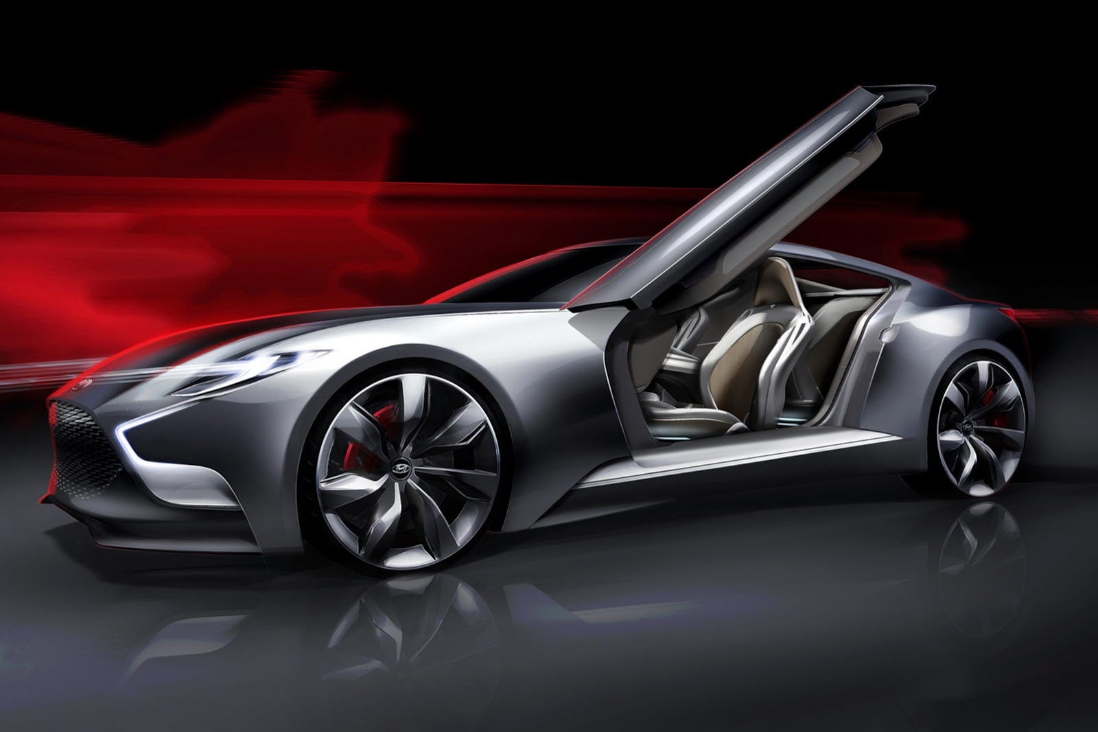 2015 hyundai genesis coupe previewed with hnd 9 concept. Black Bedroom Furniture Sets. Home Design Ideas