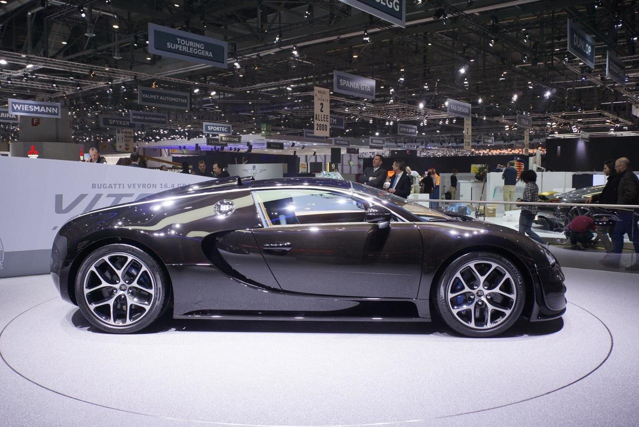 bugatti veyron 2013 geneva motor show. Black Bedroom Furniture Sets. Home Design Ideas