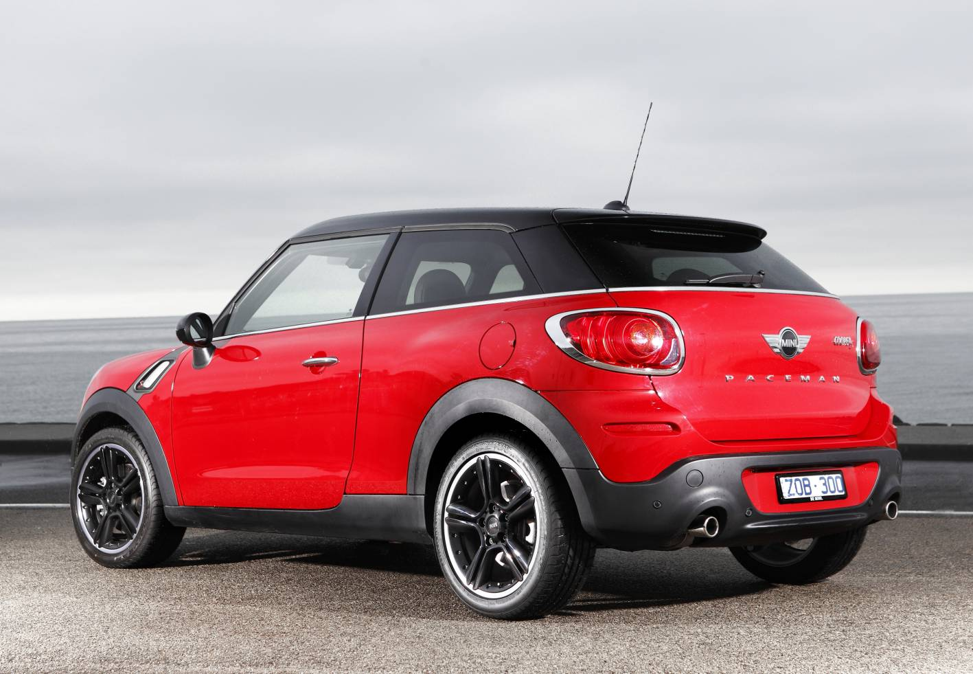 mini cooper s paceman rear. Black Bedroom Furniture Sets. Home Design Ideas