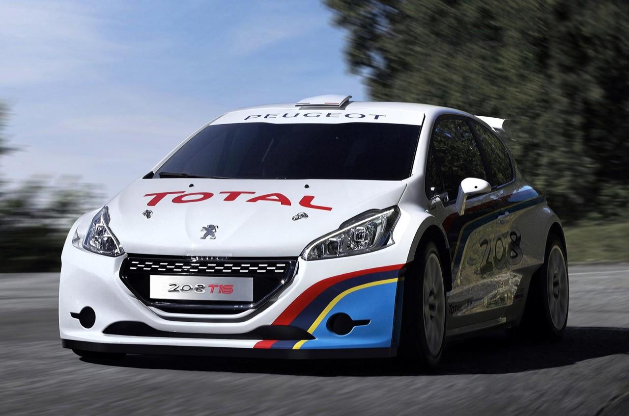 Sebastien Loeb To Run A Peugeot 208 T16 At Pikes Peak