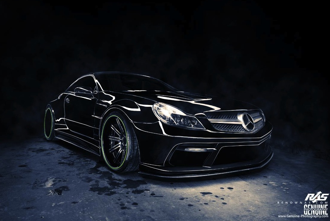 renown auto style mercedes benz sl 65 amg widebody kit. Black Bedroom Furniture Sets. Home Design Ideas