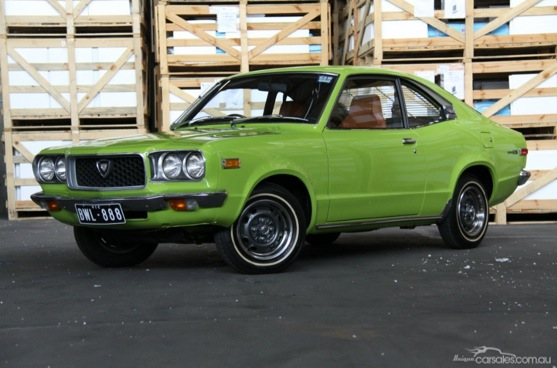 For Sale Original 1972 Mazda Rx 3 In Earth Green