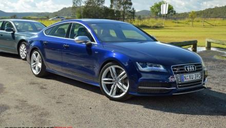 2013 Audi S7 Estoril Blue