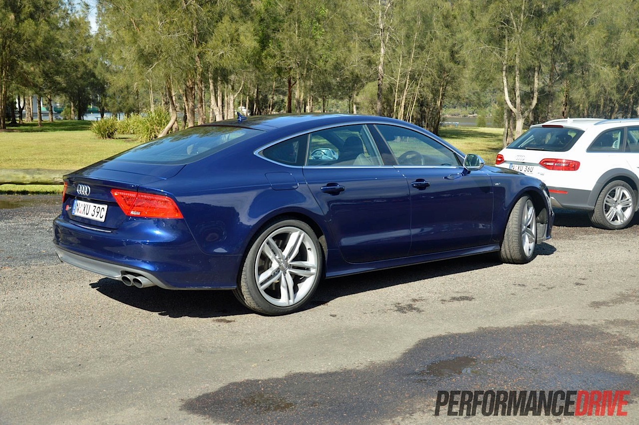 2013 audi s7 review quick spin performancedrive. Black Bedroom Furniture Sets. Home Design Ideas