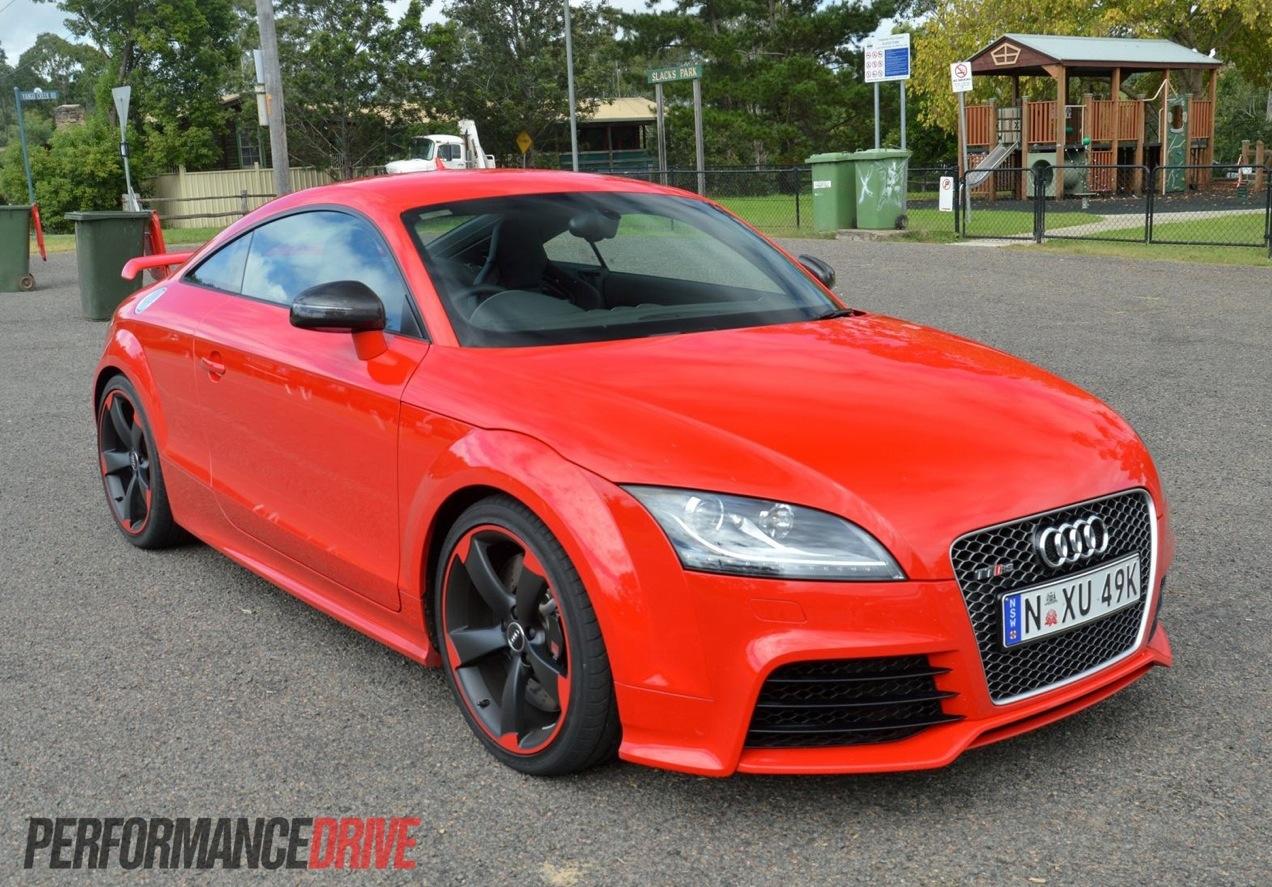 2013 Audi Tt Rs Plus Red