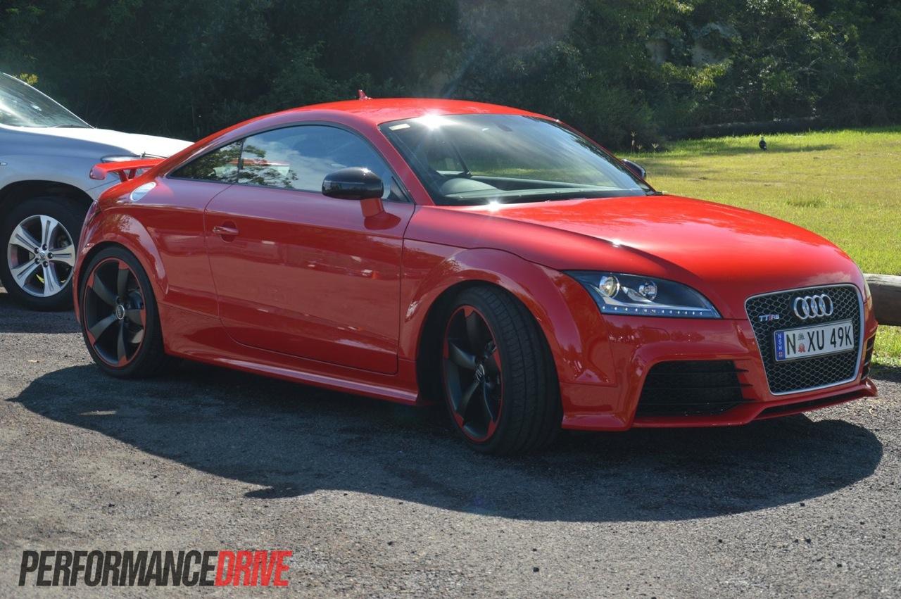2013 Audi TT RS plus Misano Red |