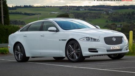 2013 Jaguar XJ Supersport Polaris White