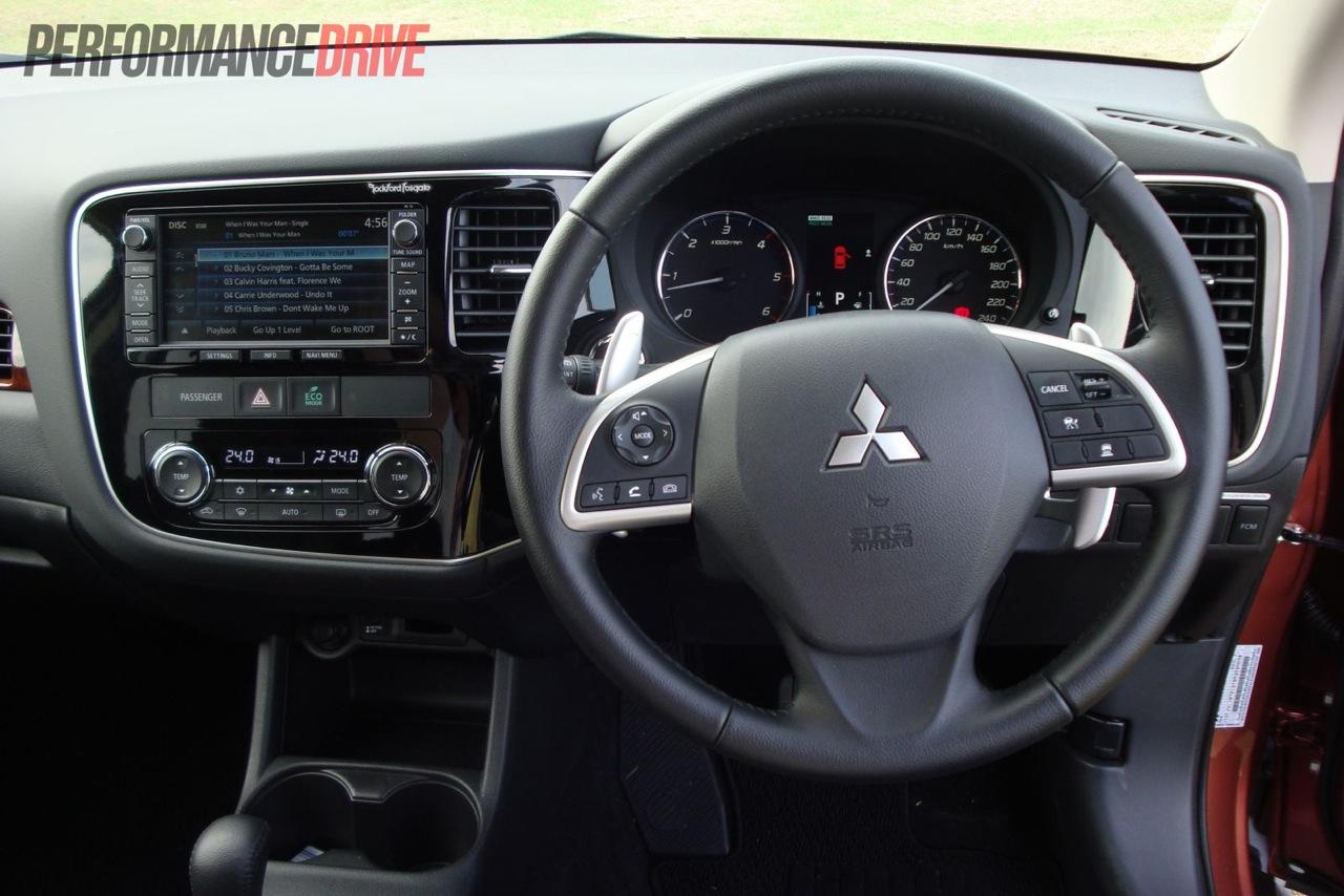 2013 Mitsubishi Outlander Aspire Di D Dash