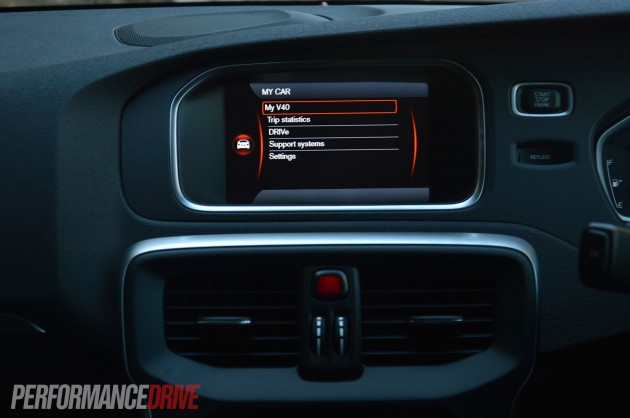 2013 Volvo V40 T5 7in touch screen