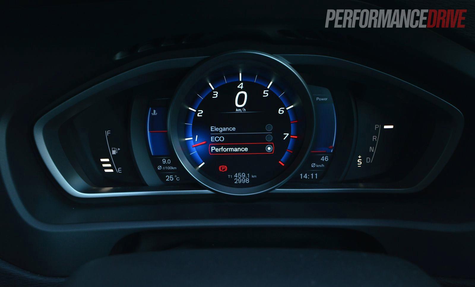 2013 Volvo V40 T5 Performance Instrument Cluster