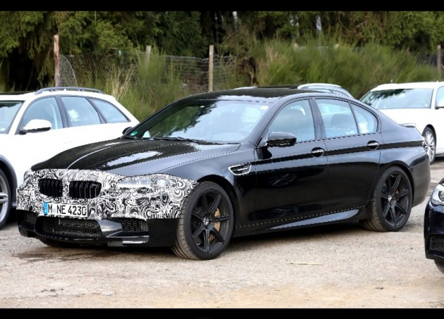 2014 BMW M5 Competition Package prototype