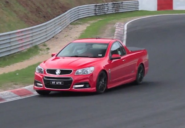 2014 Holden VF Commodore SS Ute Nurburgring
