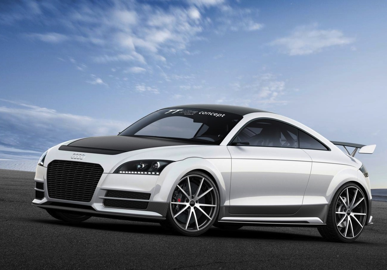 audi tt ultra quattro concept set for worthersee debut performancedrive. Black Bedroom Furniture Sets. Home Design Ideas