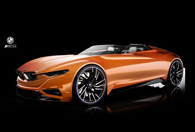 Stunning Bmw Mz8 Design Concept Pays Tribute To 8 Series