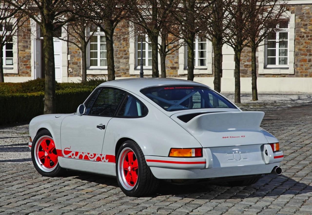 dp motorsport porsche 964 911 recreated into retro rs 2 7 performancedrive. Black Bedroom Furniture Sets. Home Design Ideas