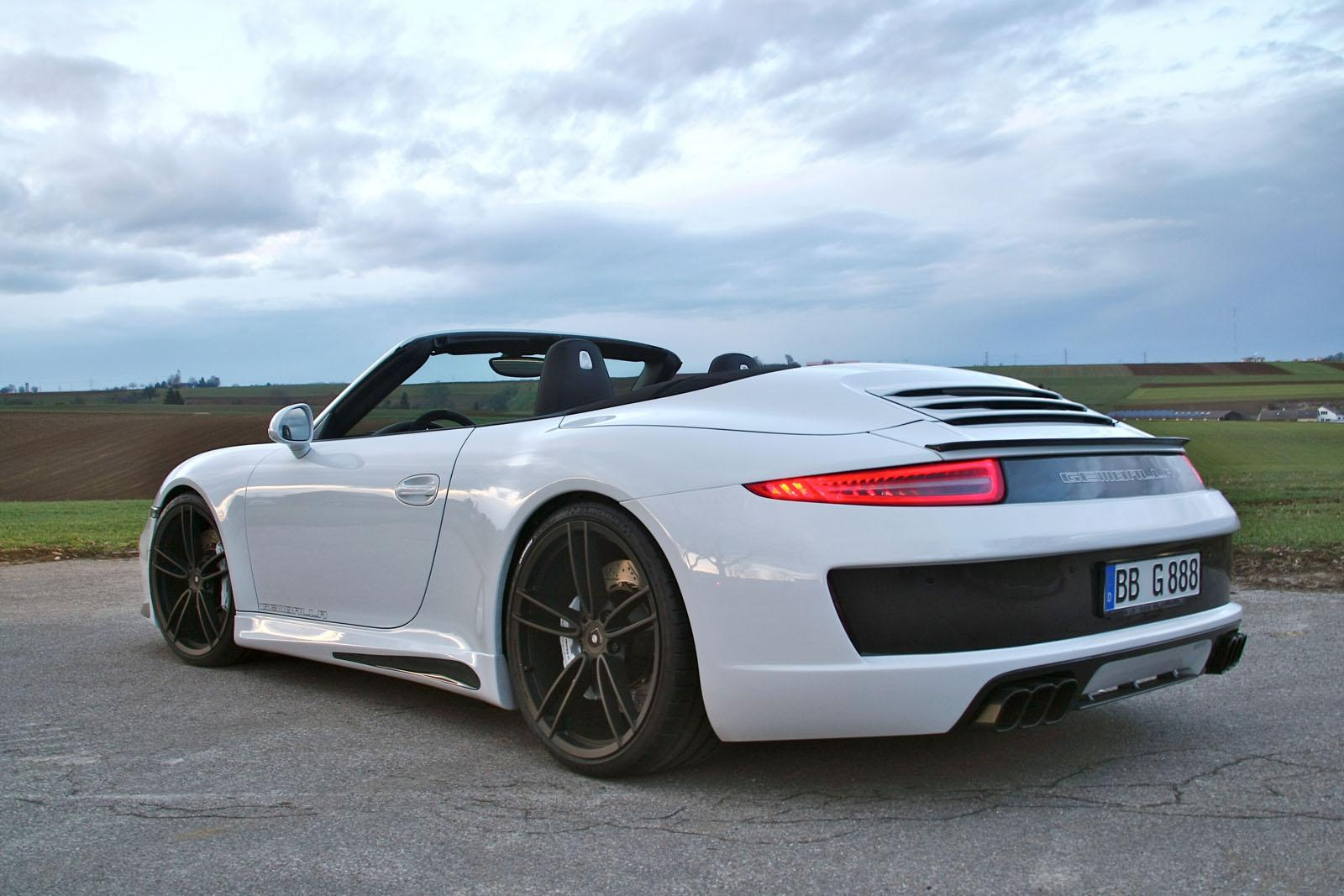 gemballa gives porsche 911 carrera s cabrio cool styling. Black Bedroom Furniture Sets. Home Design Ideas