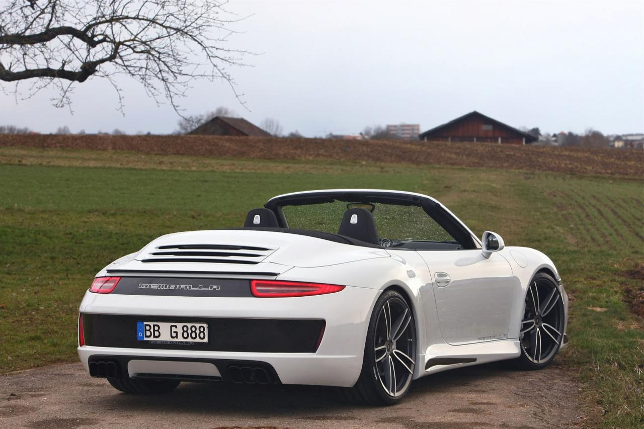 gemballa gives porsche 911 carrera s cabrio cool styling kit performancedrive. Black Bedroom Furniture Sets. Home Design Ideas