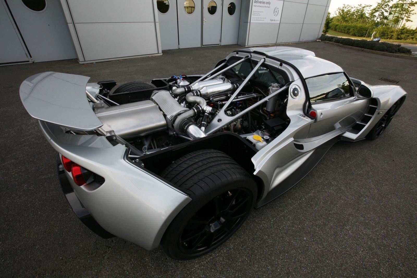 Hennessey Venom GT engine cover |