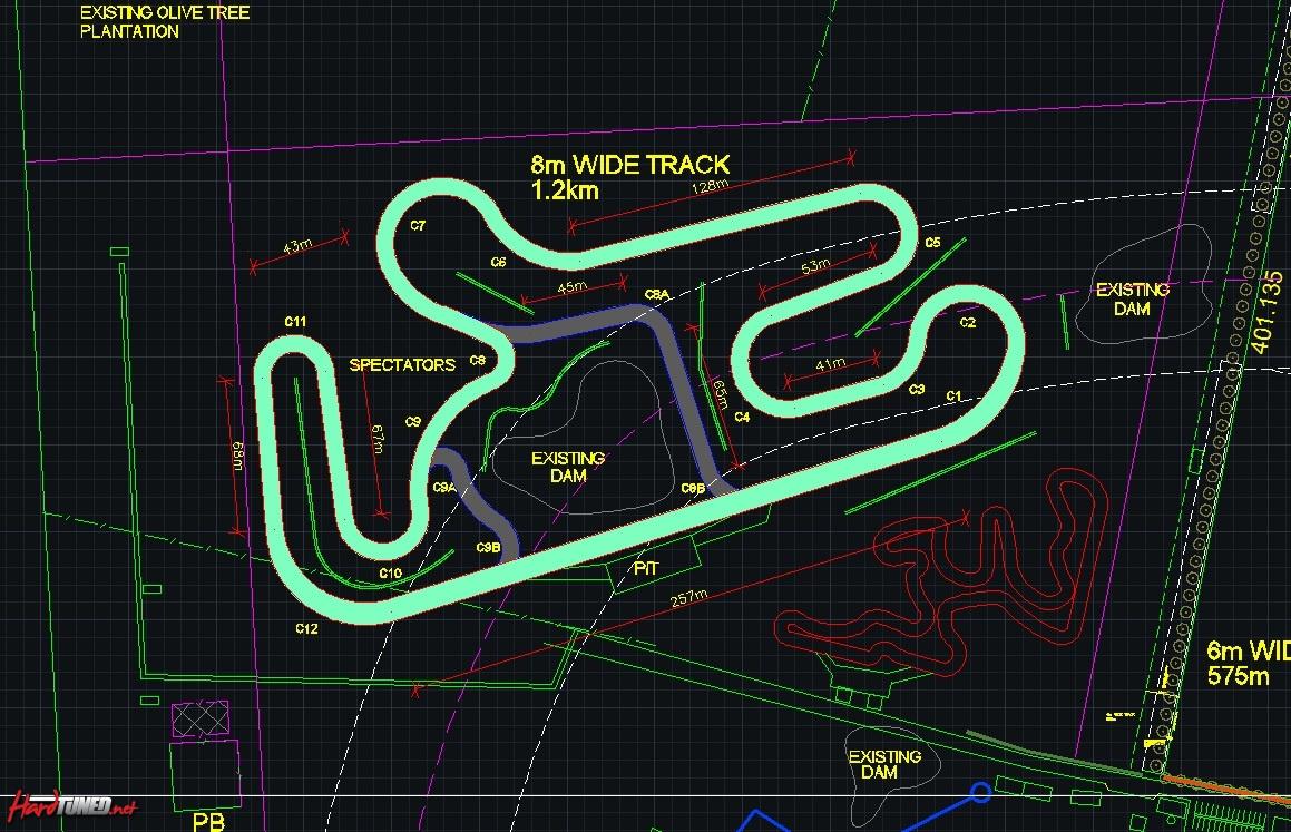 Luddenham Raceway West Sydney Coming In October