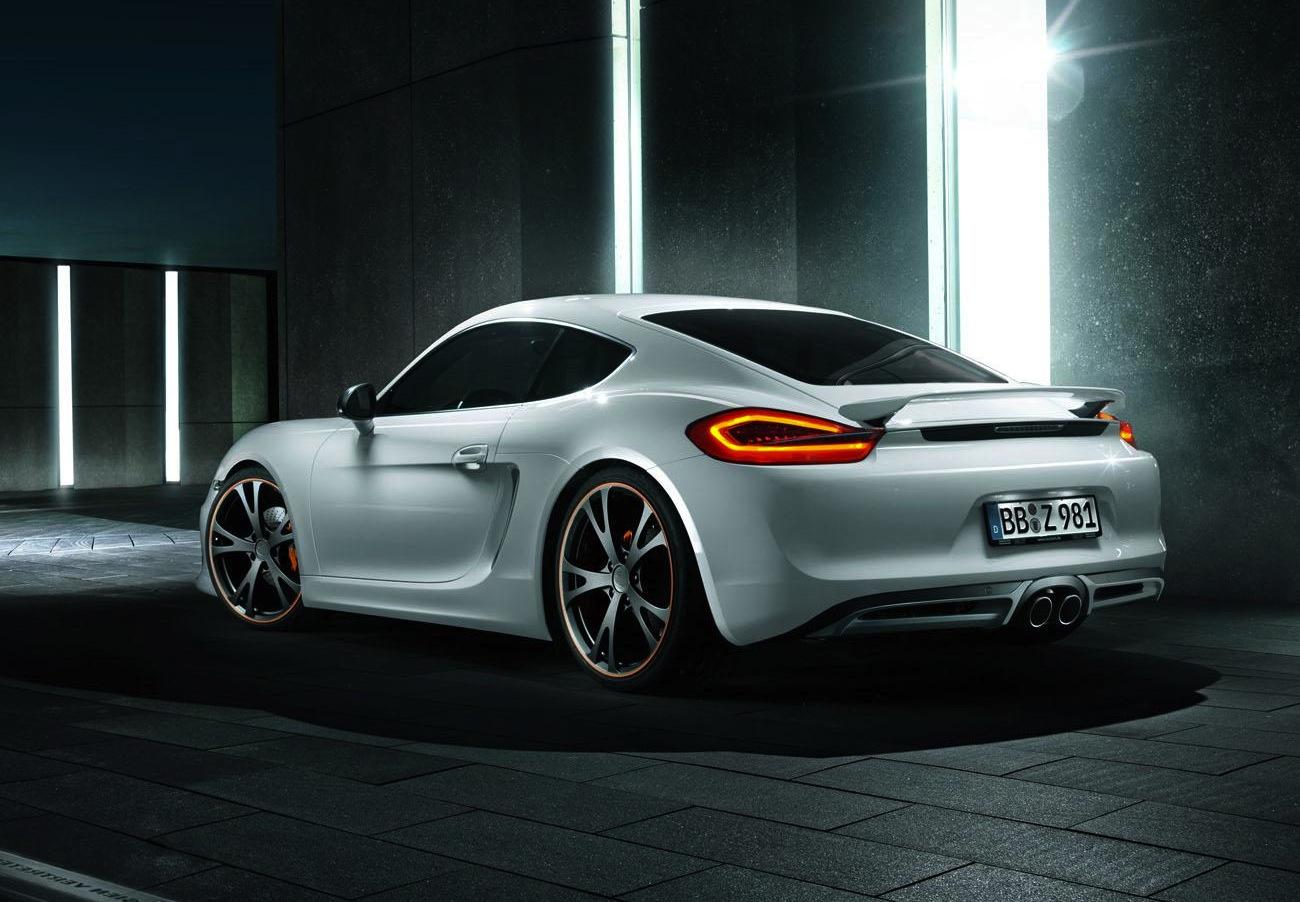 New Techart Porsche Cayman Styling Kit Announced