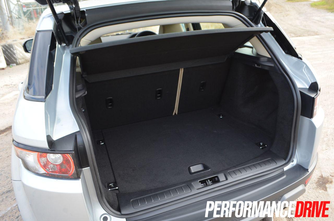 2015 Land Rover Range Rover Evoque Pure >> 2012 Range Rover Evoque Pure SD4 boot space