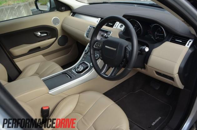 2012 Range Rover Evoque Pure SD4 driver's seat
