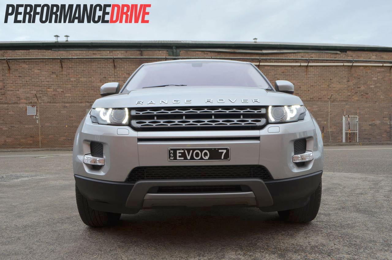 2012 range rover evoque pure sd4 front end. Black Bedroom Furniture Sets. Home Design Ideas