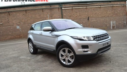 2012 Range Rover Evoque Pure SD4 front side