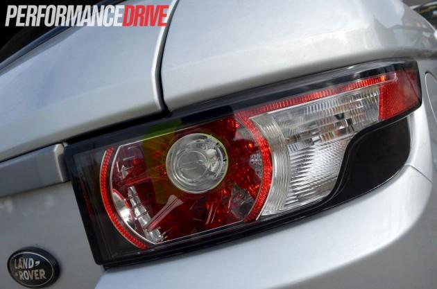 2012 Range Rover Evoque Pure SD4 rear light