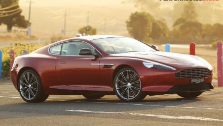 2013 Aston Martin DB9 Volcano Red