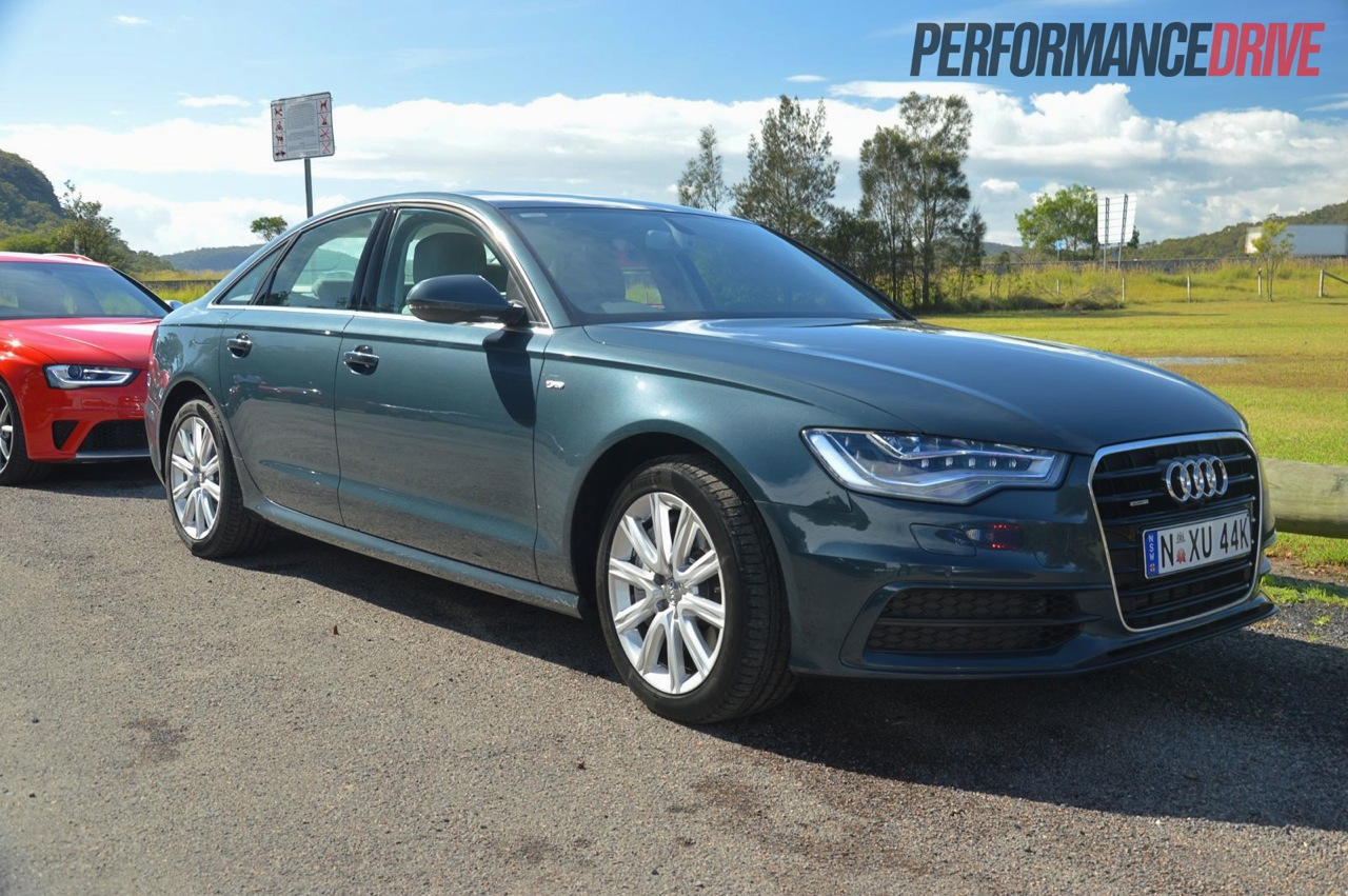 2013 audi a6 tdi biturbo review quick spin video performancedrive. Black Bedroom Furniture Sets. Home Design Ideas