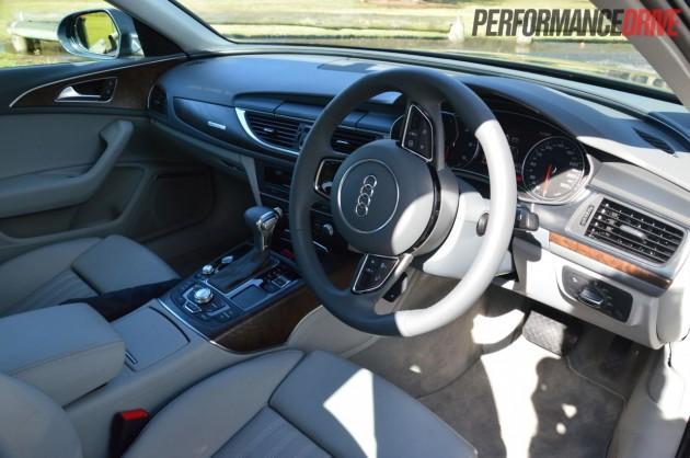 2013 Audi A6 TDI Biturbo dash