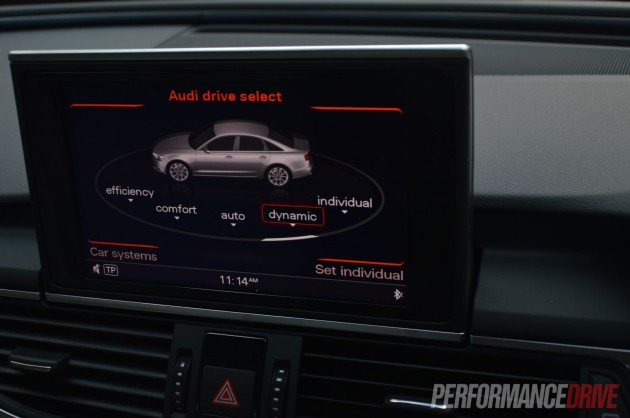 2013 Audi A6 TDI Biturbo drive select