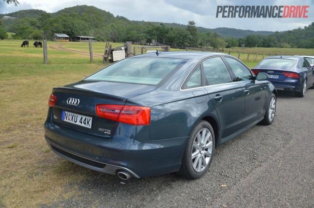 2013 Audi A6 TDI Biturbo rear