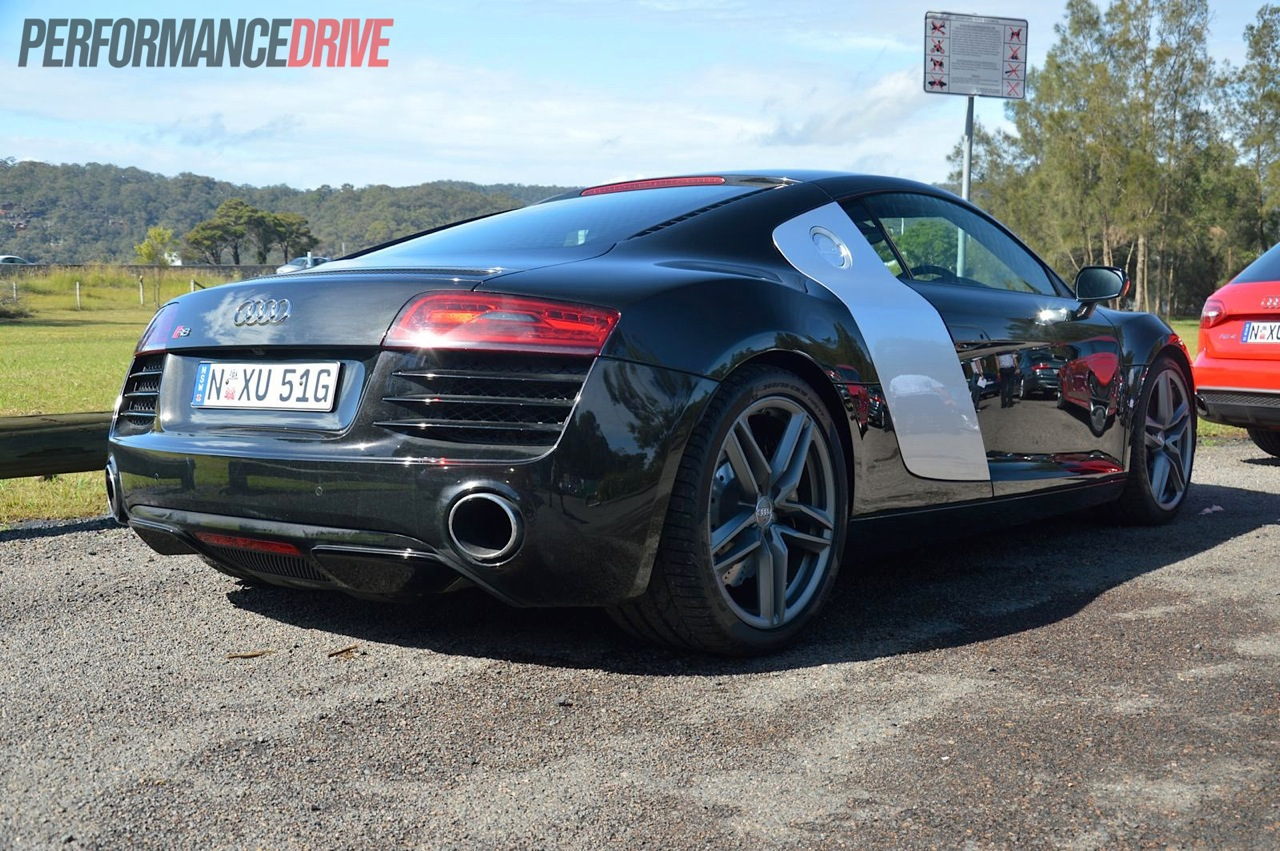 2013 Audi R8 V8 Review Quick Spin Performancedrive