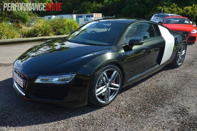 2013 Audi R8 V8 Panther Black