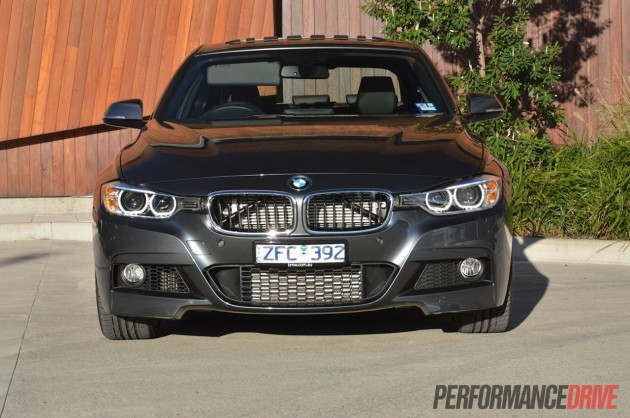 2013 BMW ActiveHybrid 3 M Sport front