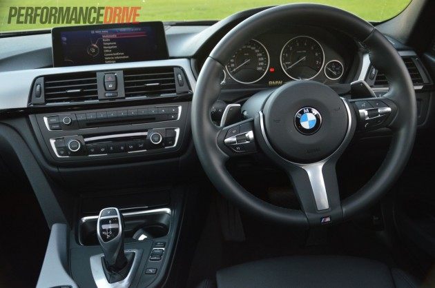 2013 BMW ActiveHybrid 3 interior