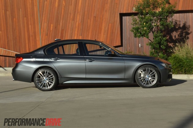 2013 BMW ActiveHybrid 3 side profile