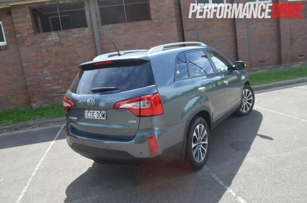 2013 Kia Sorento Platinum rear side