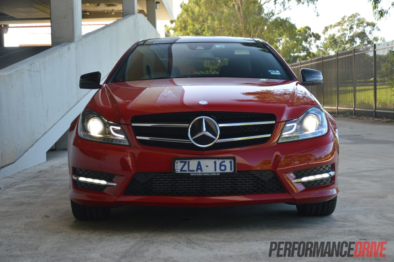 2013 mercedes benz c 250 coupe sport headlights for Mercedes benz headlights