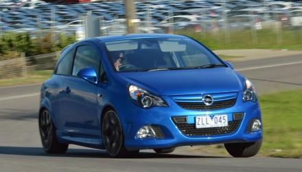 2013 Opel Corsa OPC PerformanceDrive