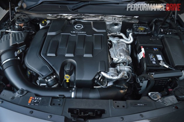 2013 Opel Insignia OPC 2.8L V6 turbo engine