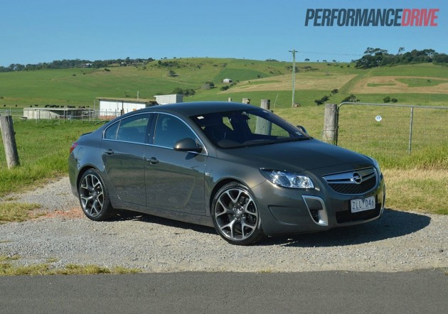 2013 Opel Insignia OPC Asteroid Grey