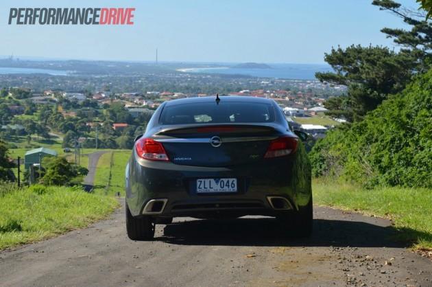 2013 Opel Insignia OPC back