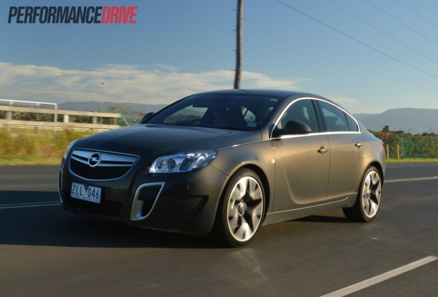 2013 Opel Insignia OPC driving