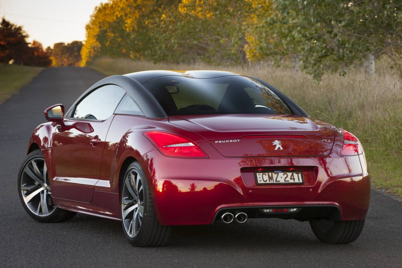 2013 peugeot rcz now on sale in australia performancedrive. Black Bedroom Furniture Sets. Home Design Ideas